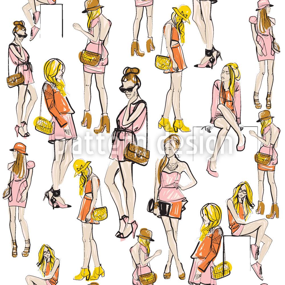 Designtapete Fashionistas