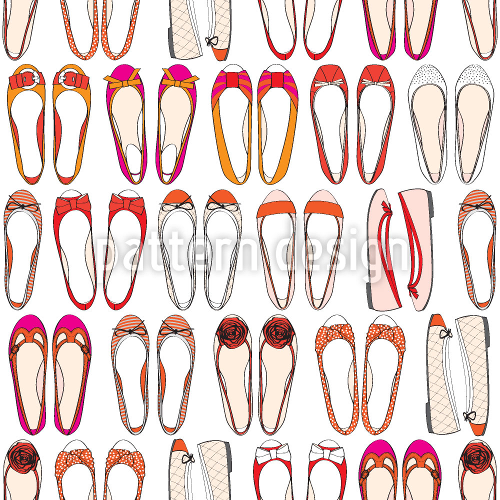 Designtapete Ballerina Sammlung