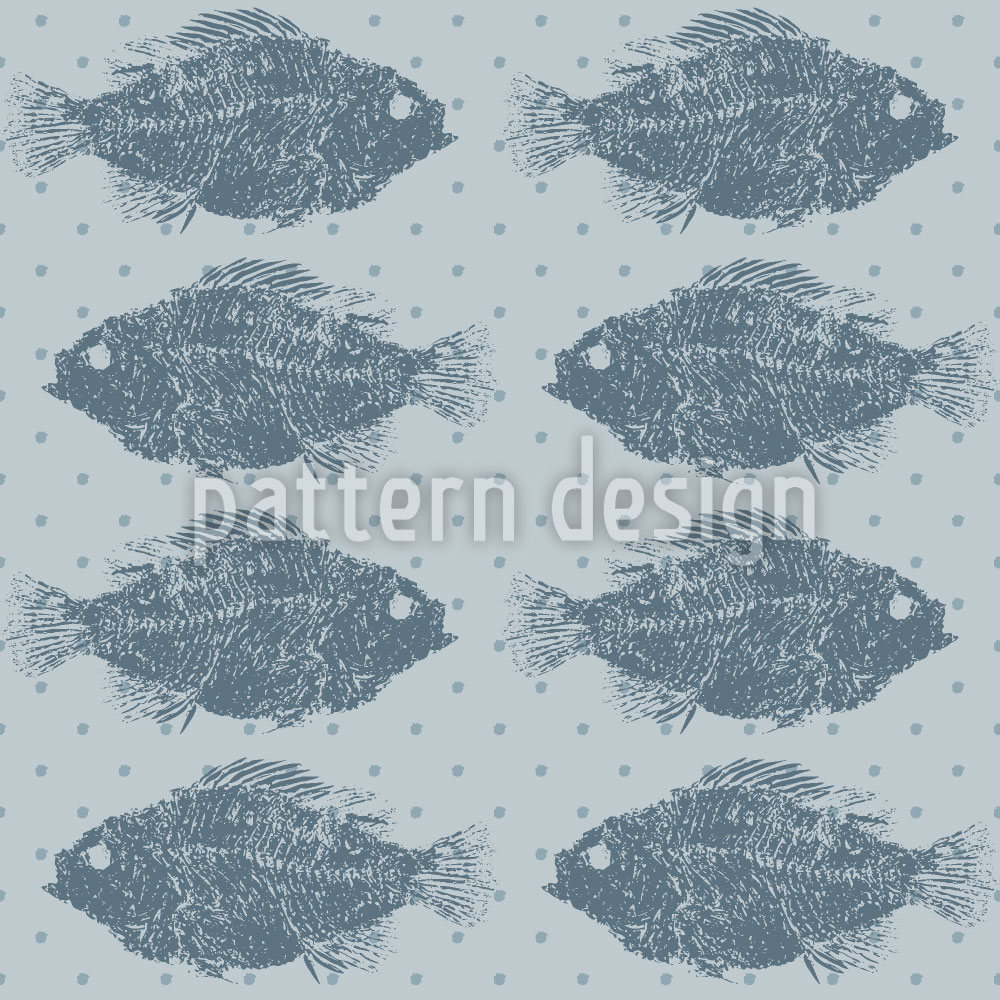 Designtapete Süsswasserfische