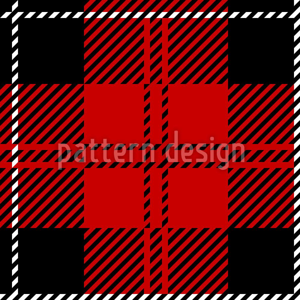Designtapete Kilt