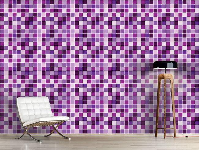 Designtapete Kachel Mosaik