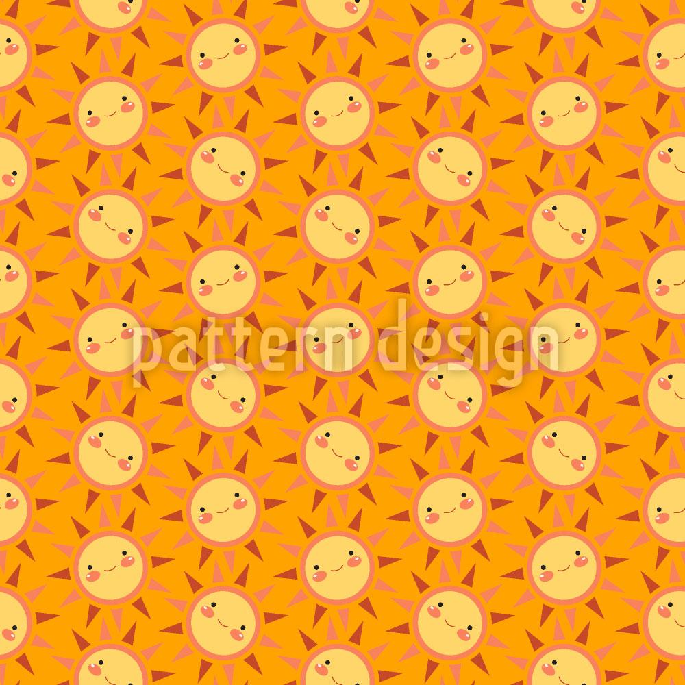 Designtapete Sunny Funny