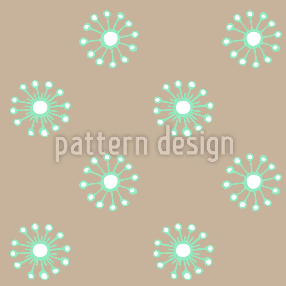 Designtapete Wiesenblümchen