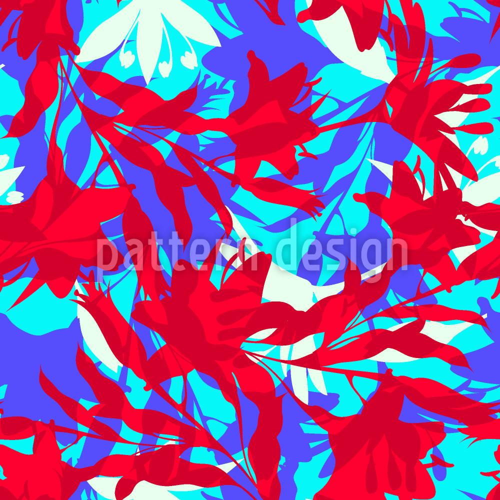 Designtapete Florales Dickicht