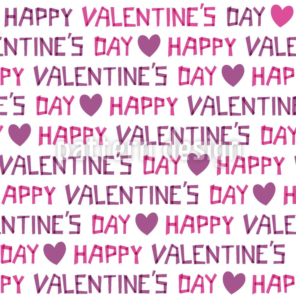 Designtapete Valentinstag