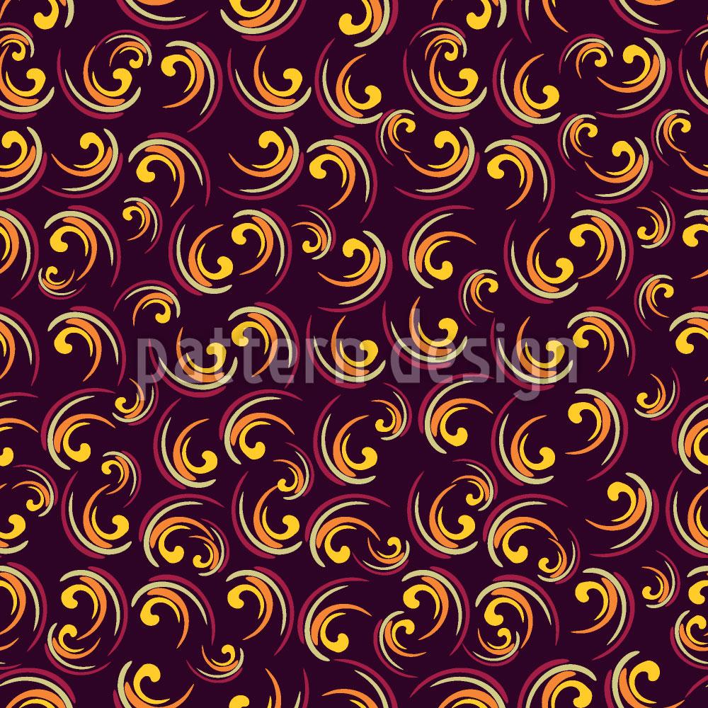 Designtapete Swirly