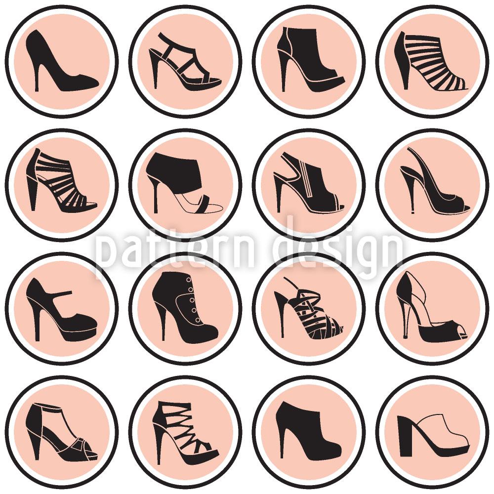 Designtapete Mod High Heels