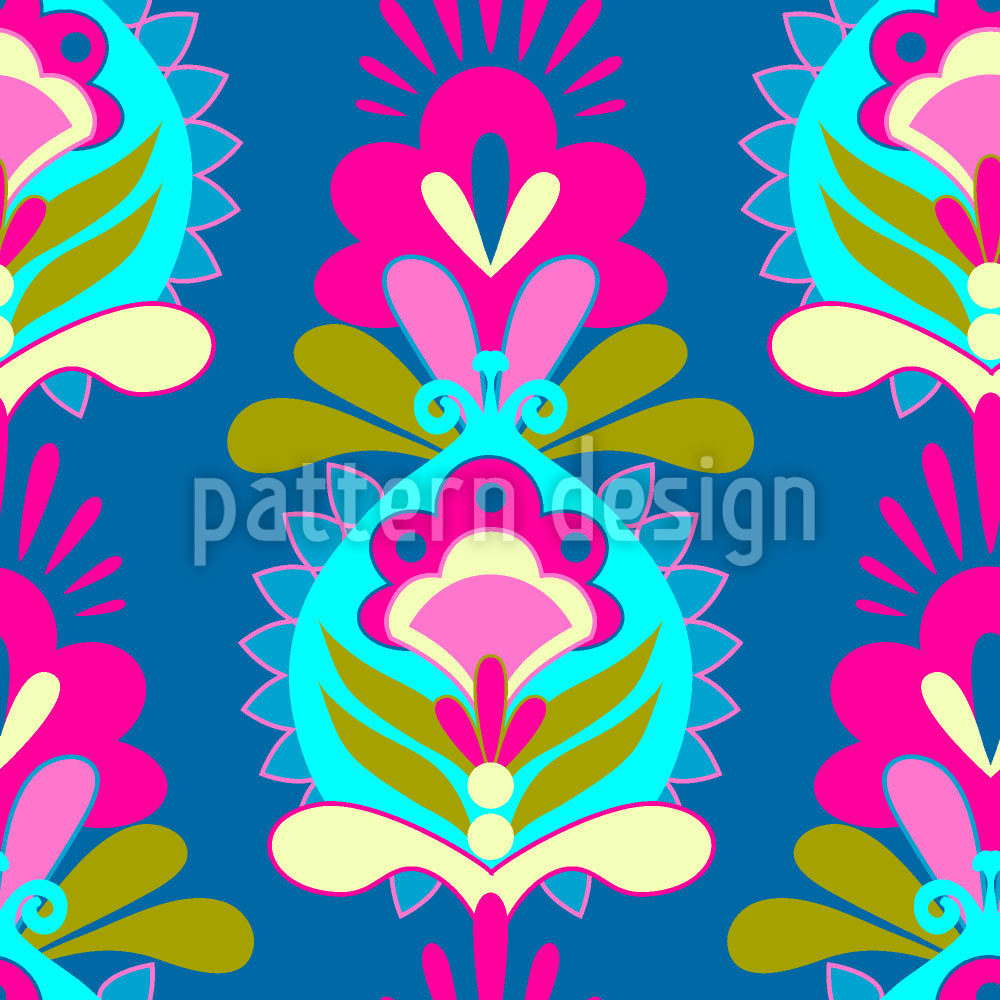 Designtapete Blumen Grüsse