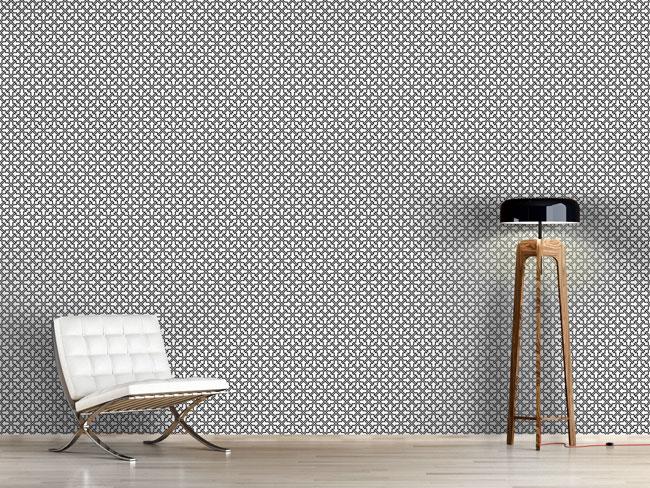 Designtapete Maurisches Gitterwerk