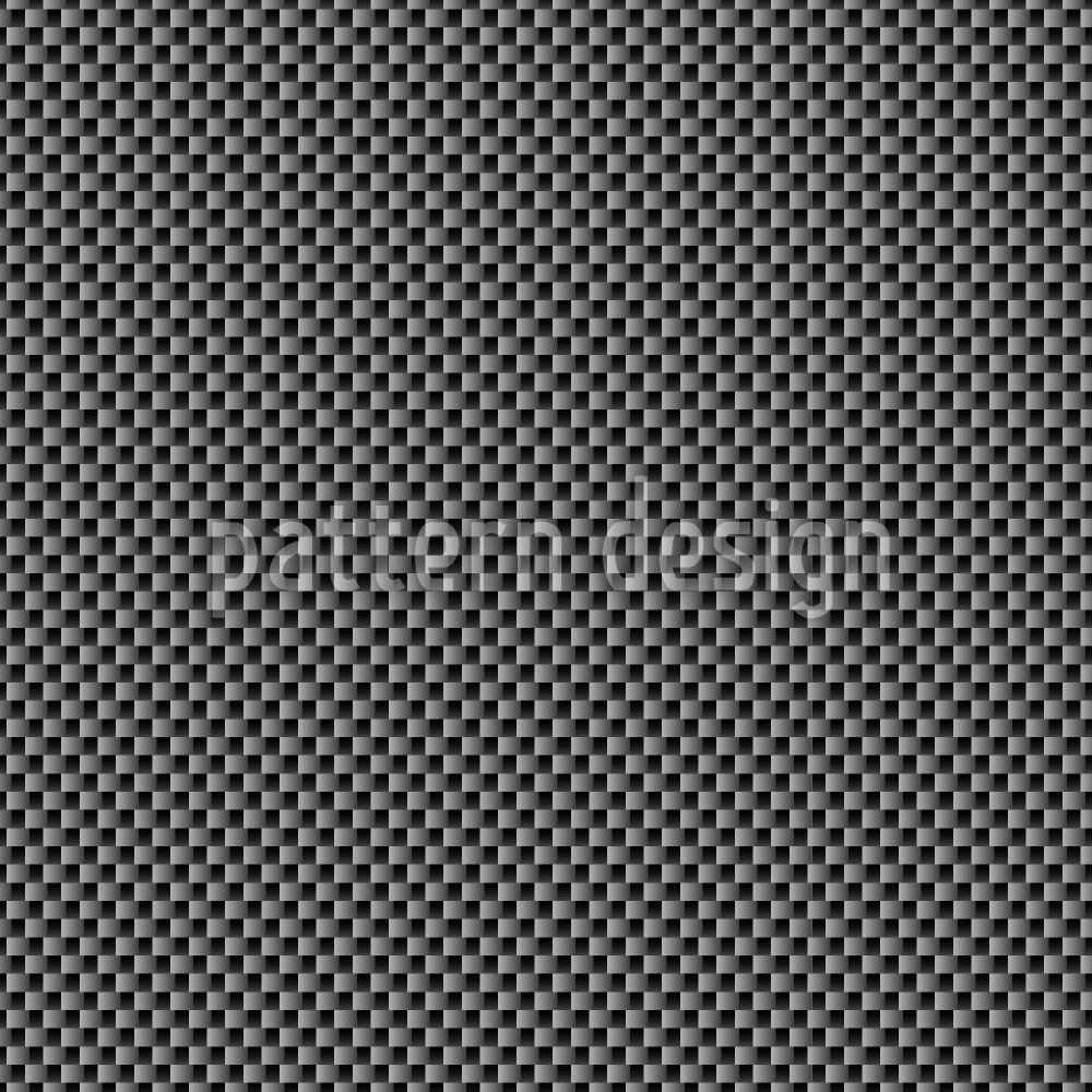 Designtapete Karbon Textur