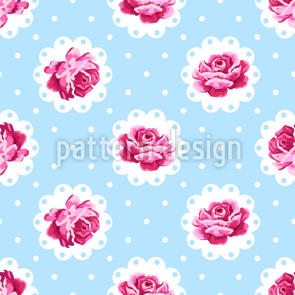 Designtapete Vintage Rose
