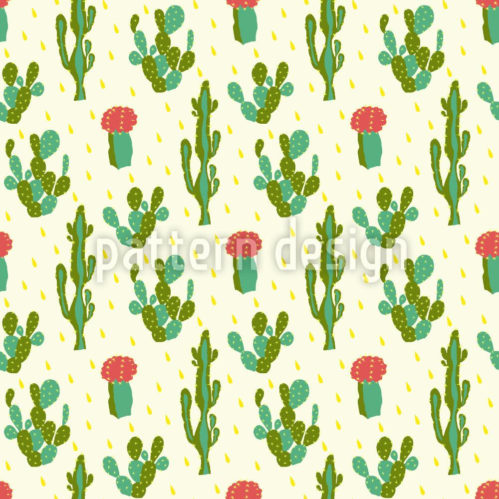 Designtapete Wüsten Kaktus