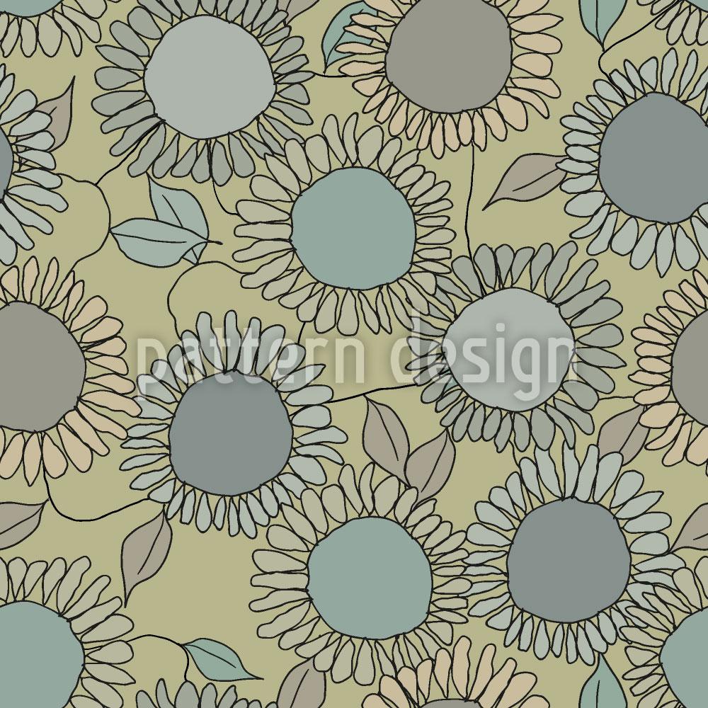 Designtapete Sonnenblumen Freude