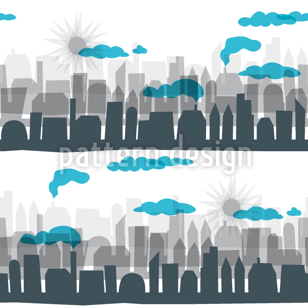 Designtapete Skyline