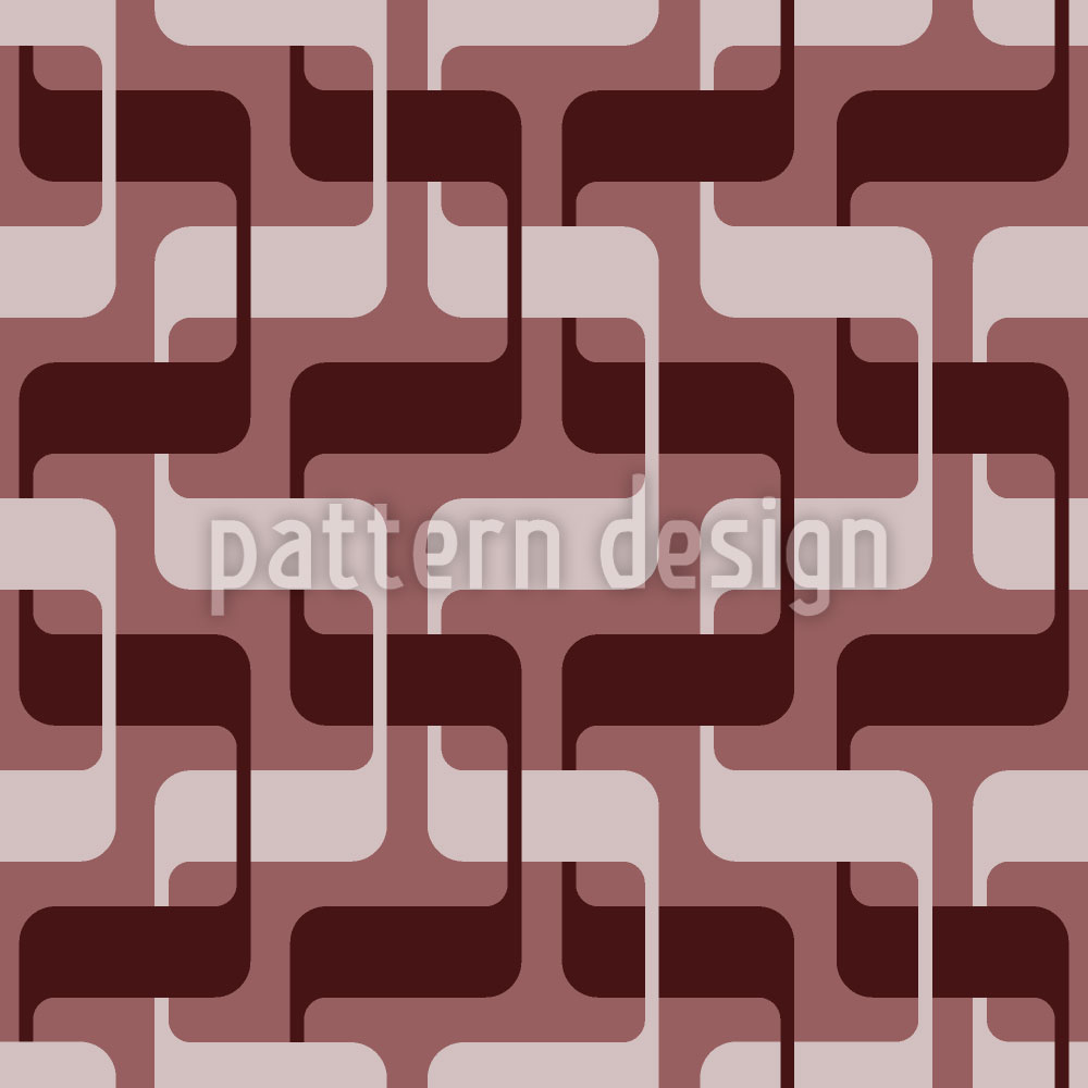 Designtapete 5225 Retro Snakes
