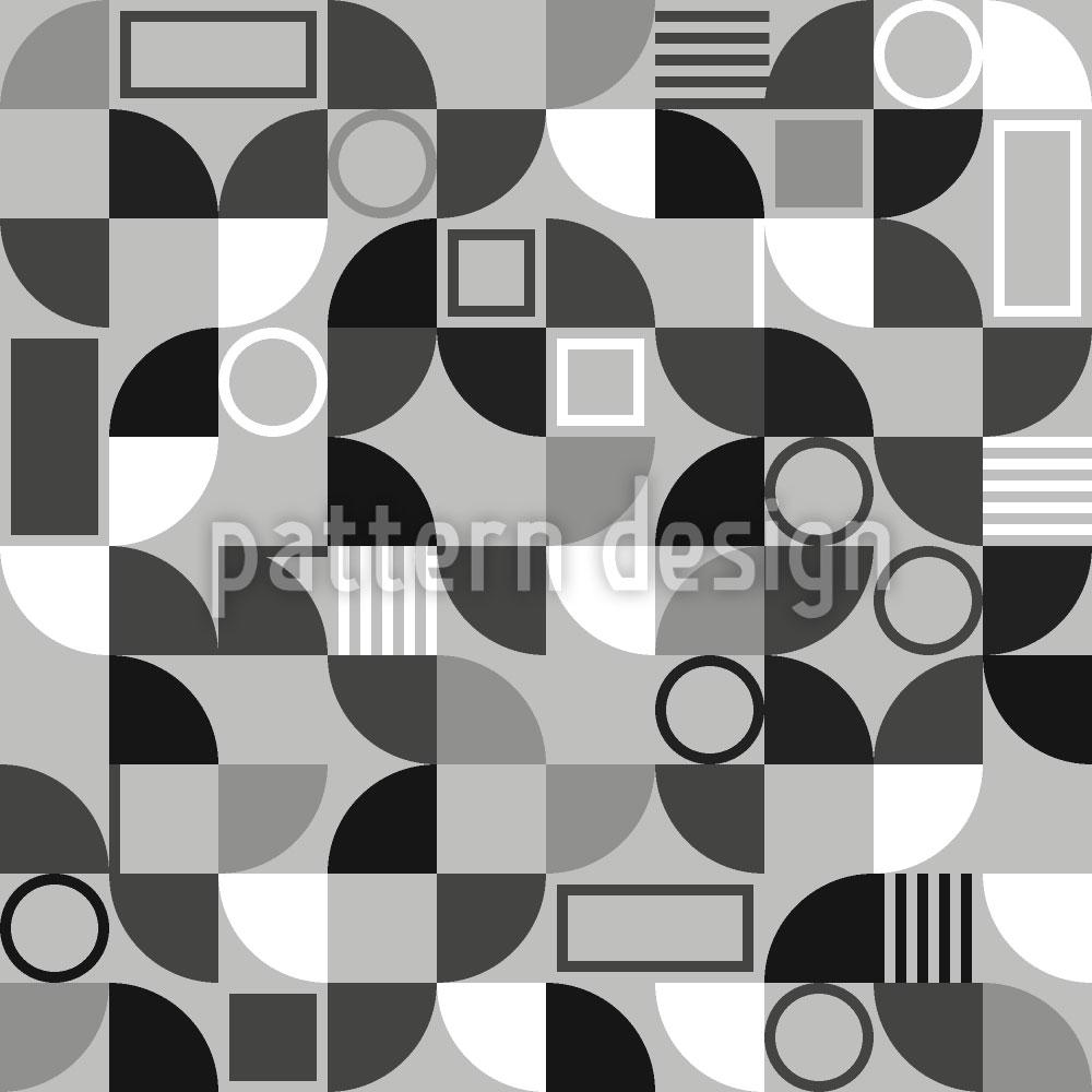 Designtapete Fliesen Fragmente