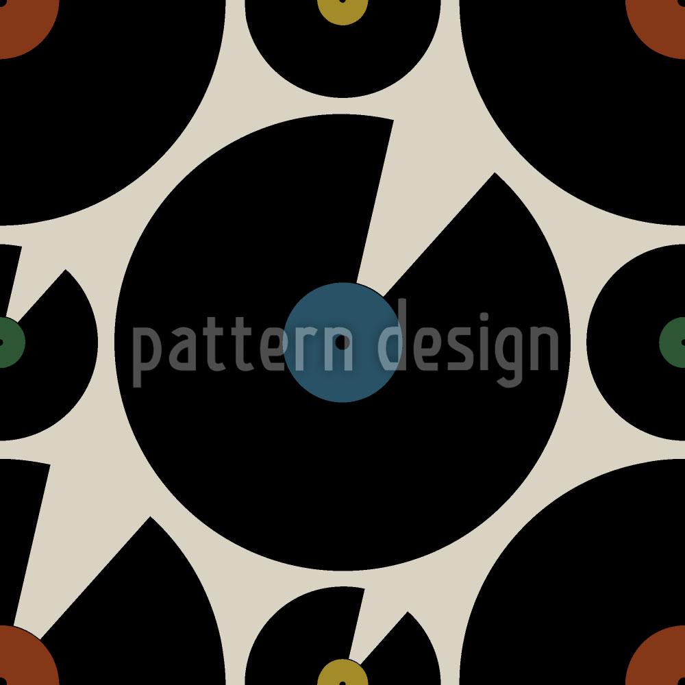 Designtapete Good Old Vinyl