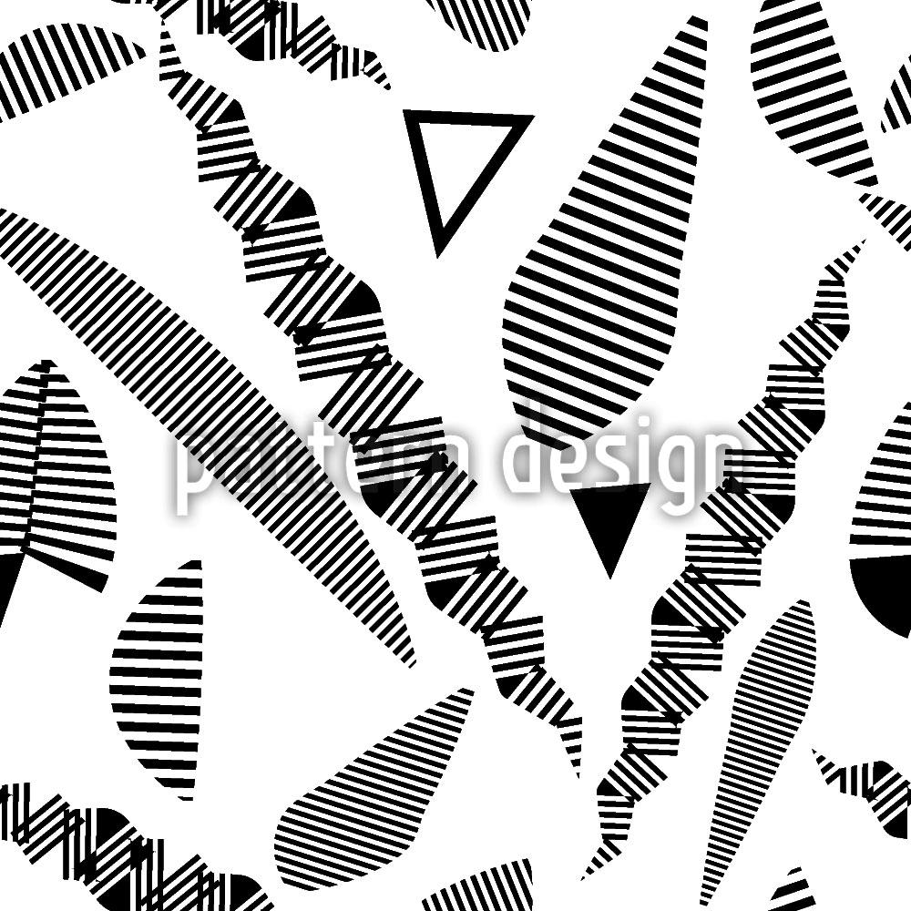 Designtapete Streifen Phantasie