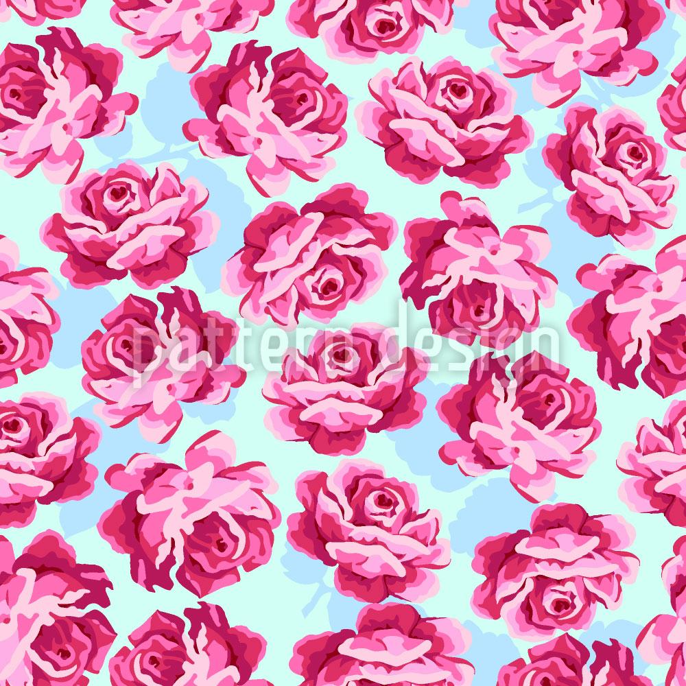 Designtapete Liebliche Rose