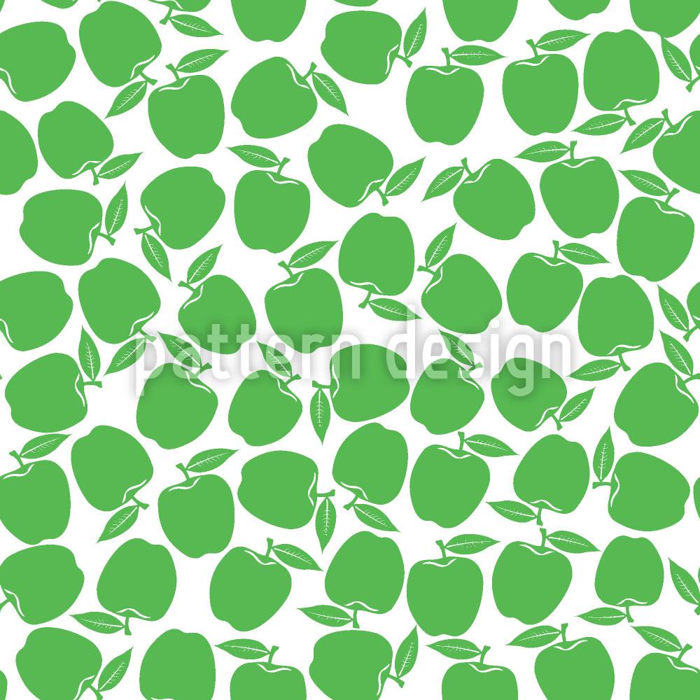 Designtapete Äpfel Pflücken