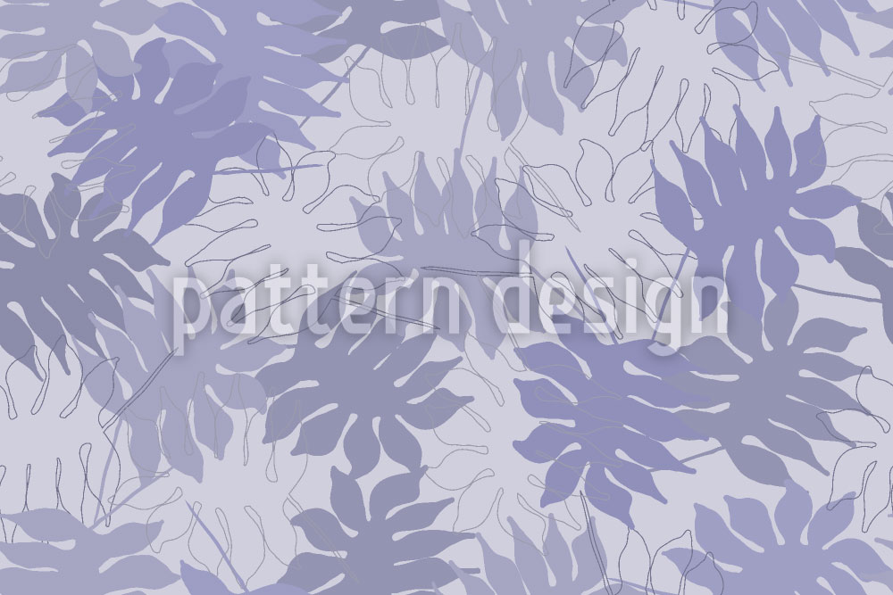 Designtapete Blätter Des Traumbaumes