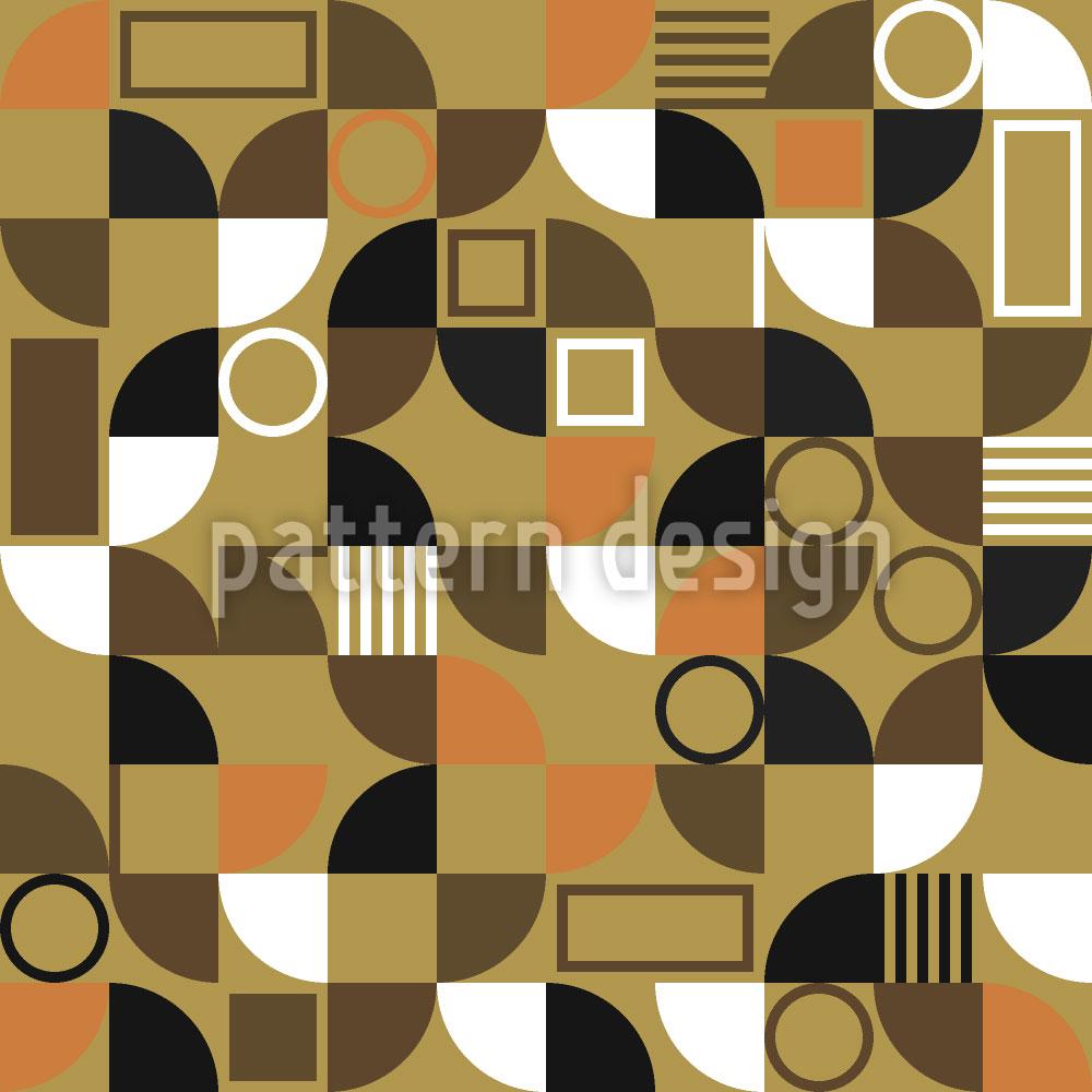Designtapete Mosaik Fragmente