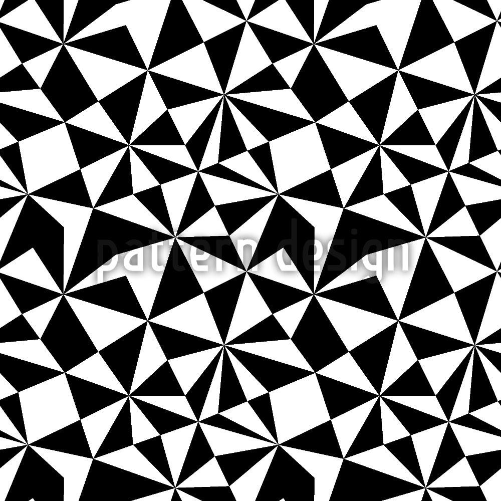 Designtapete Op Mosaik