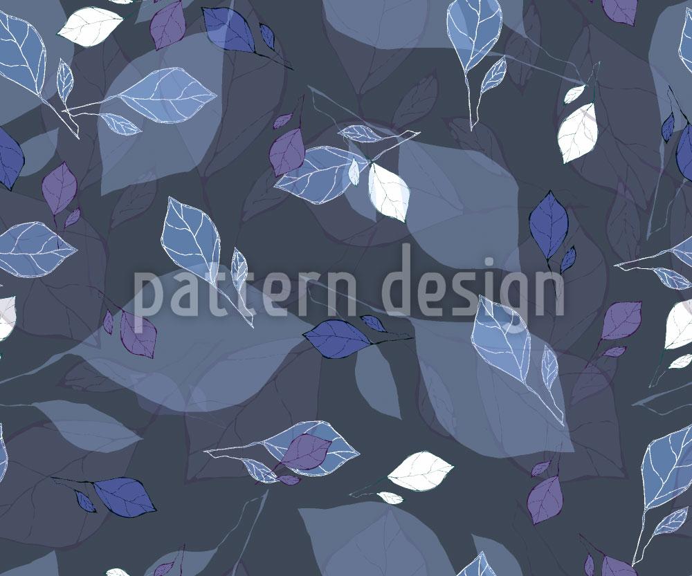 Designtapete Leichte Blätter