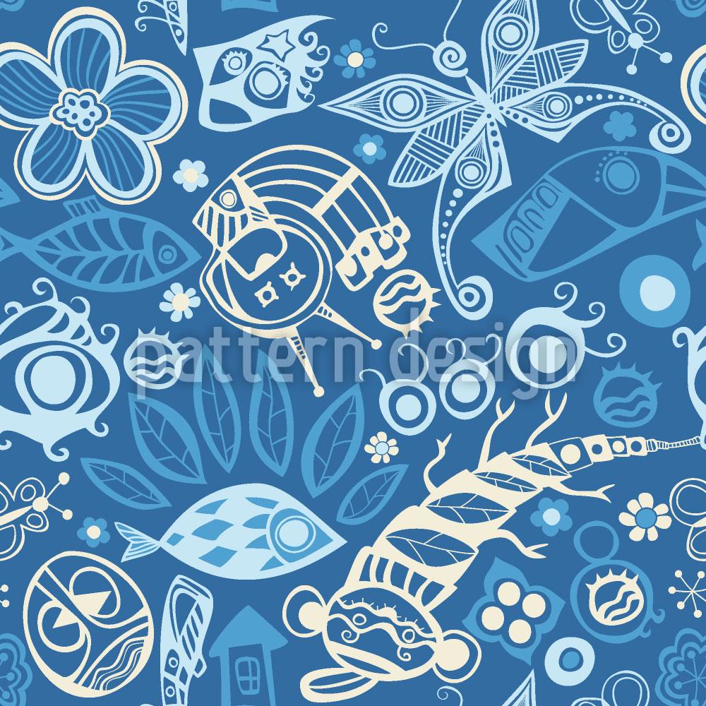 Designtapete Ozean Der Träume
