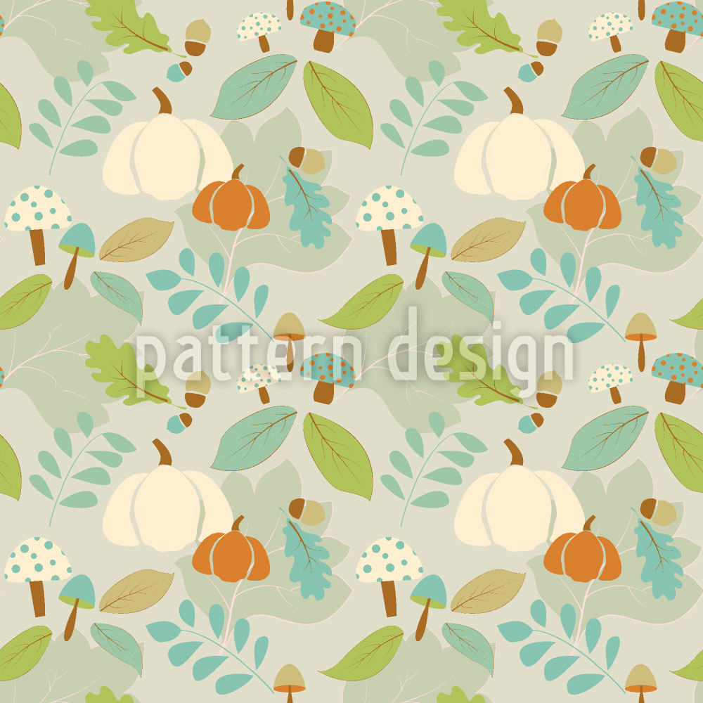 Designtapete Herbst Freuden