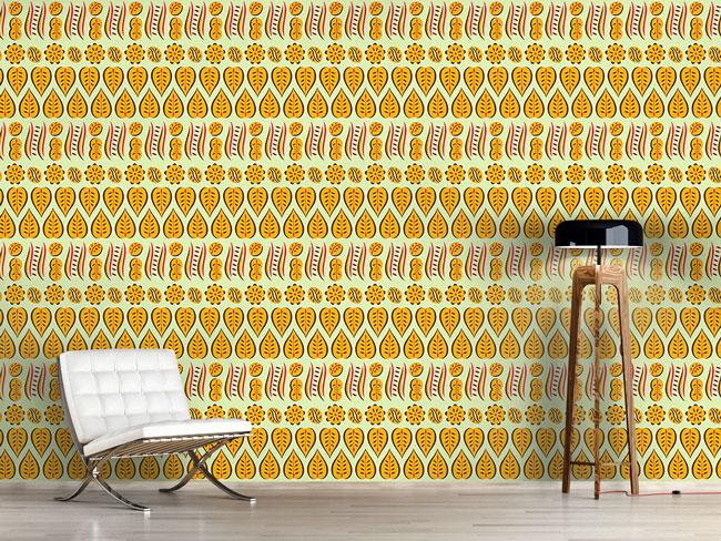 Designtapete Florale Sammlung