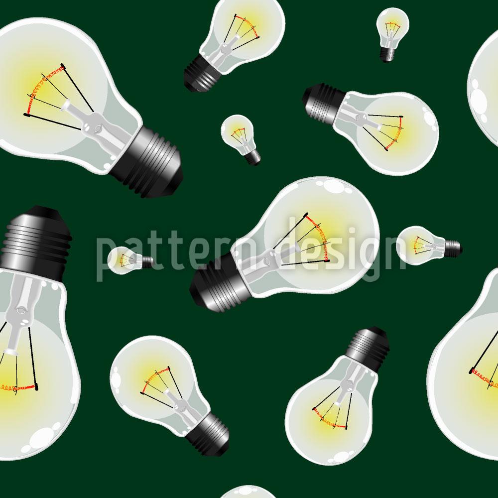 Designtapete Glühbirnen