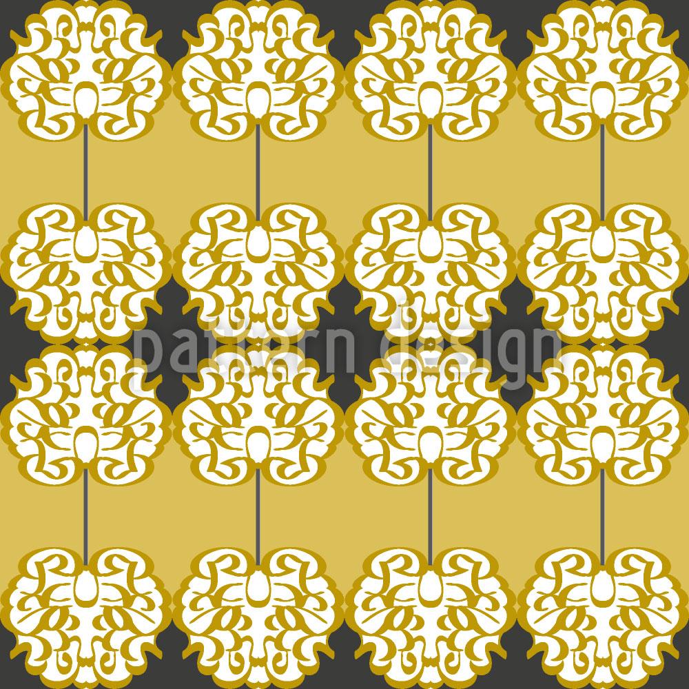 Designtapete Renaissance Bordüre