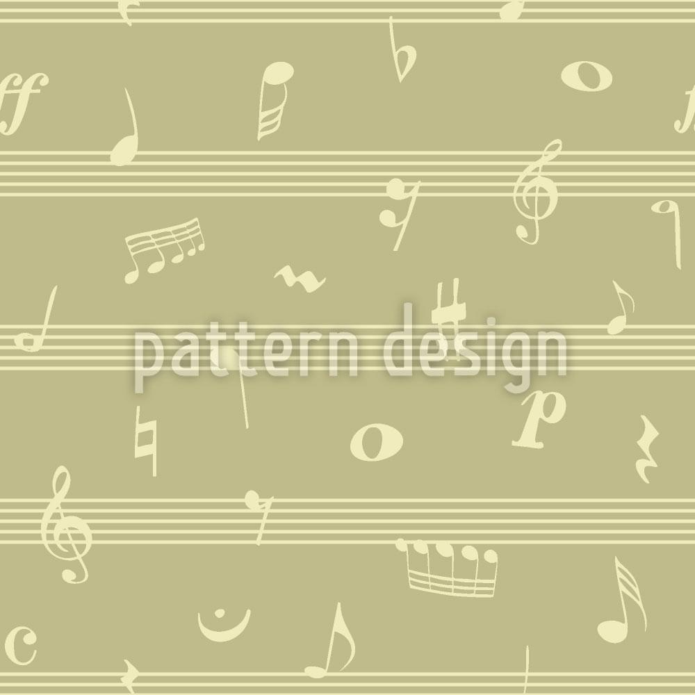 Designtapete Psychedelischer Jazz