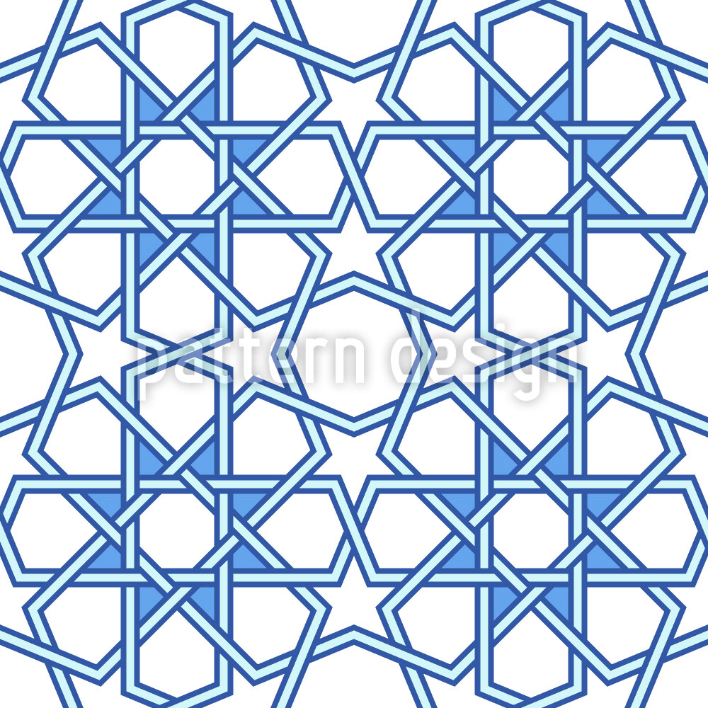 Designtapete Arabische Kunst