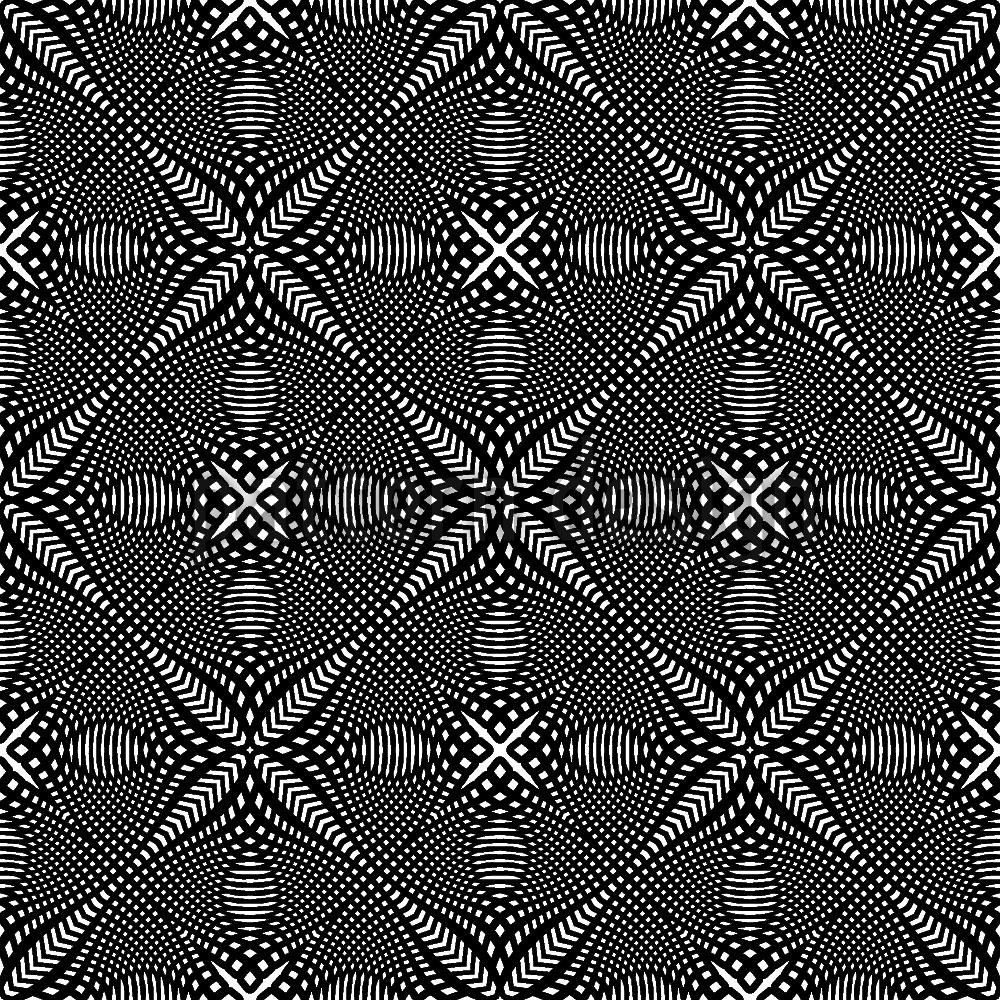 Designtapete Kreuz Illusion