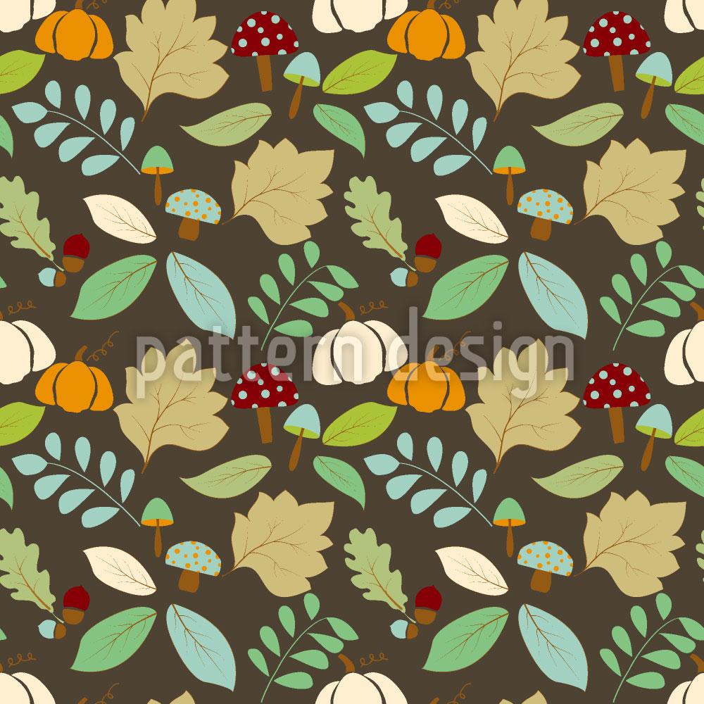 Designtapete Herbst Natur