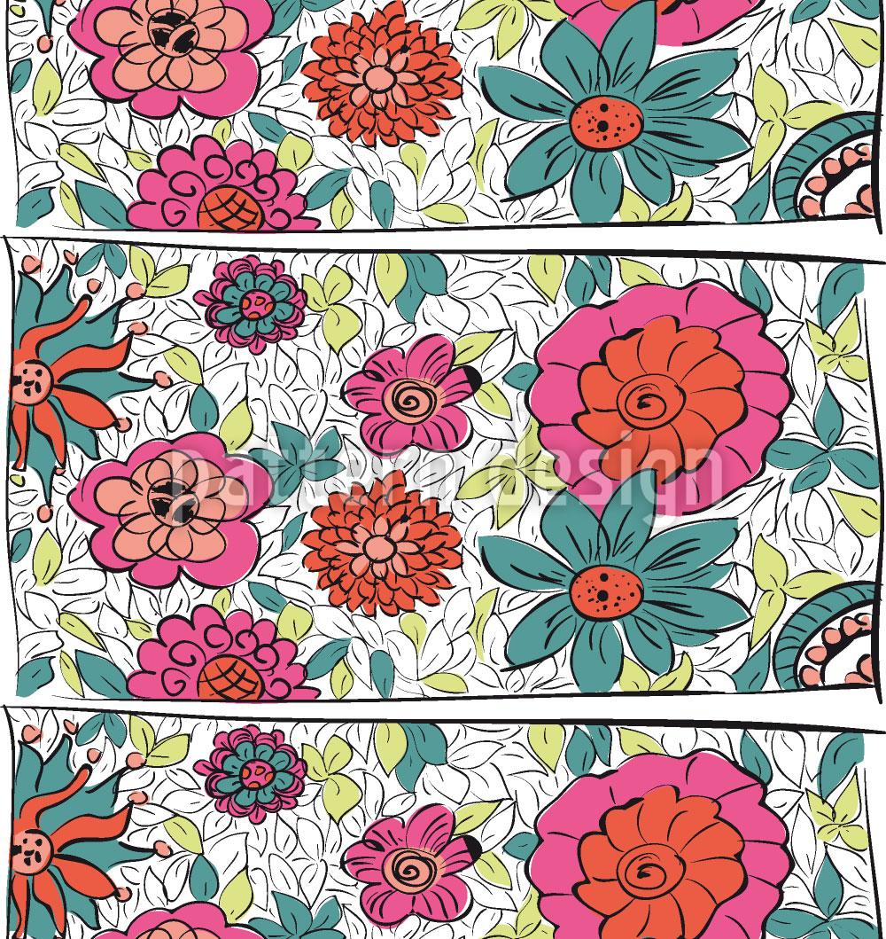 Designtapete Blumen Aus Eden