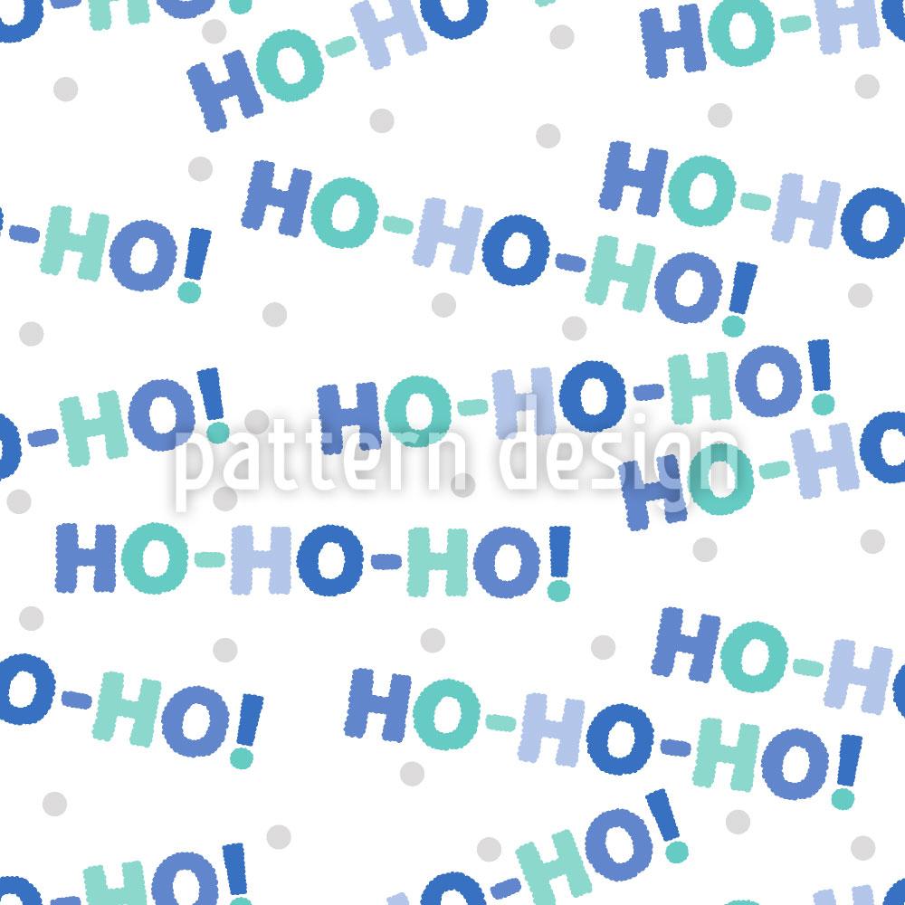 Designtapete Ho Ho Ho