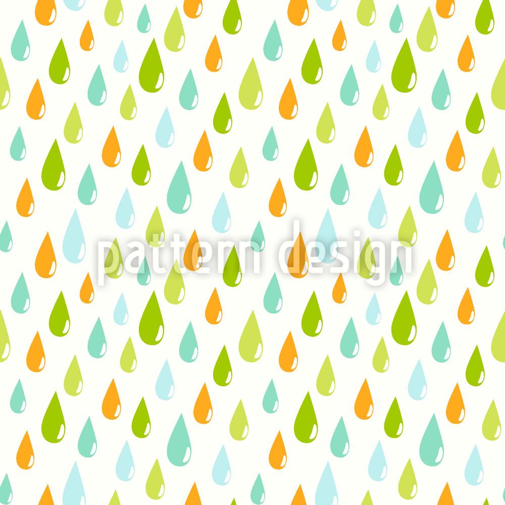 Designtapete Die Regentropfen