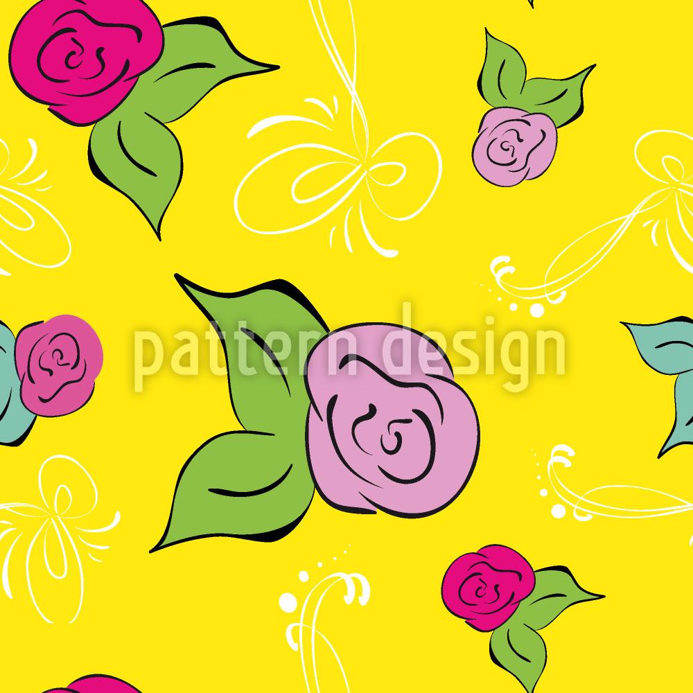 Designtapete Eine Rose Ist Eine Rose