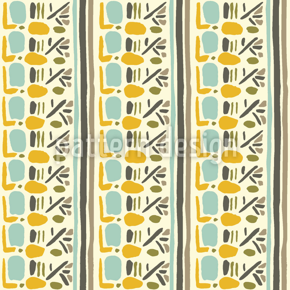 Designtapete Inka Inspiration