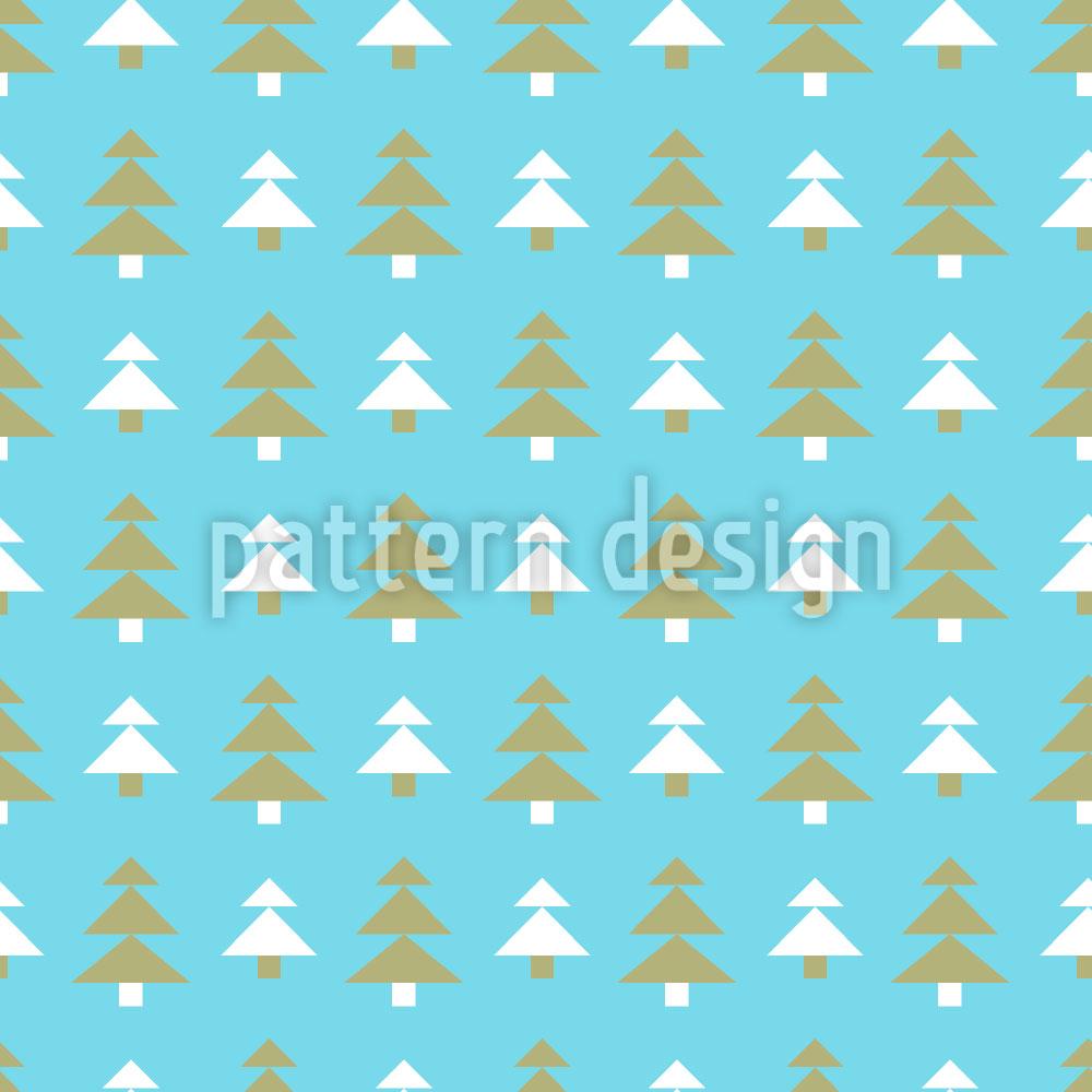 Designtapete Weihnachtsbaum Bonanza