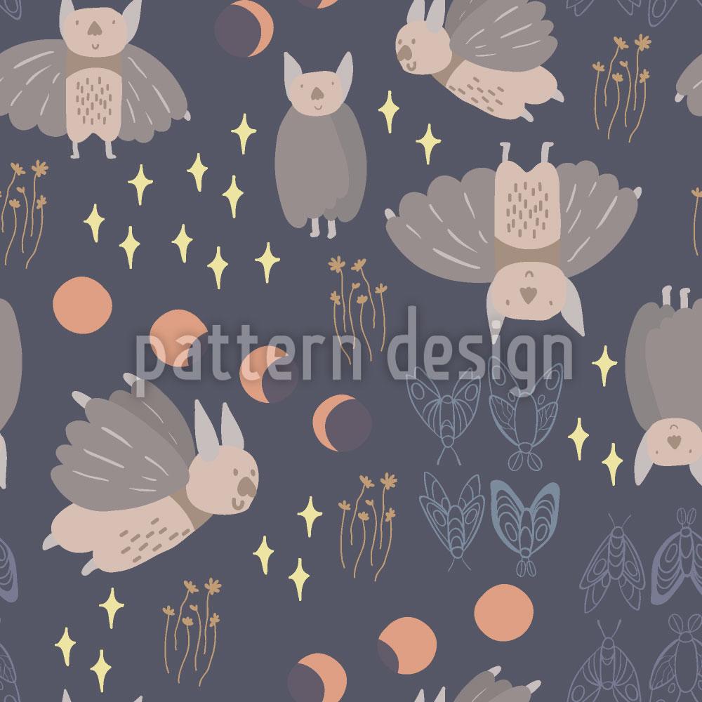 Designtapete Kreaturen Der Nacht