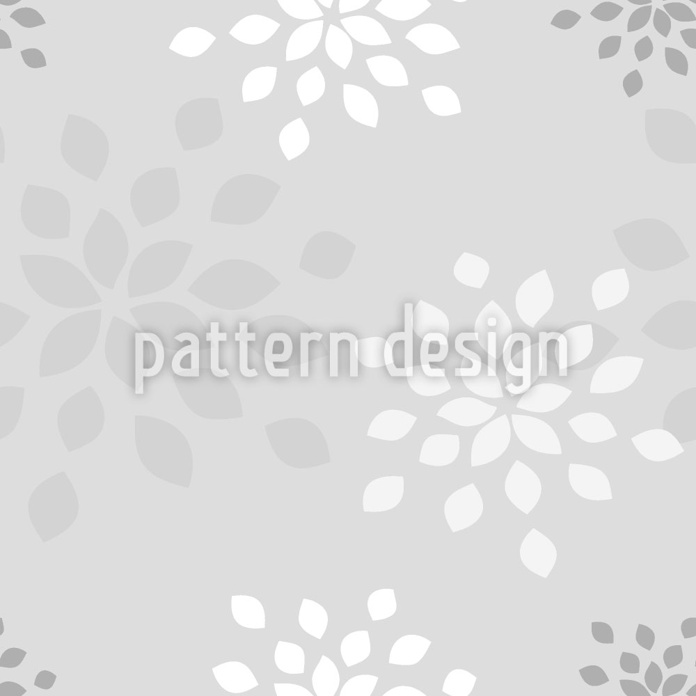 Designtapete Blütenblätter
