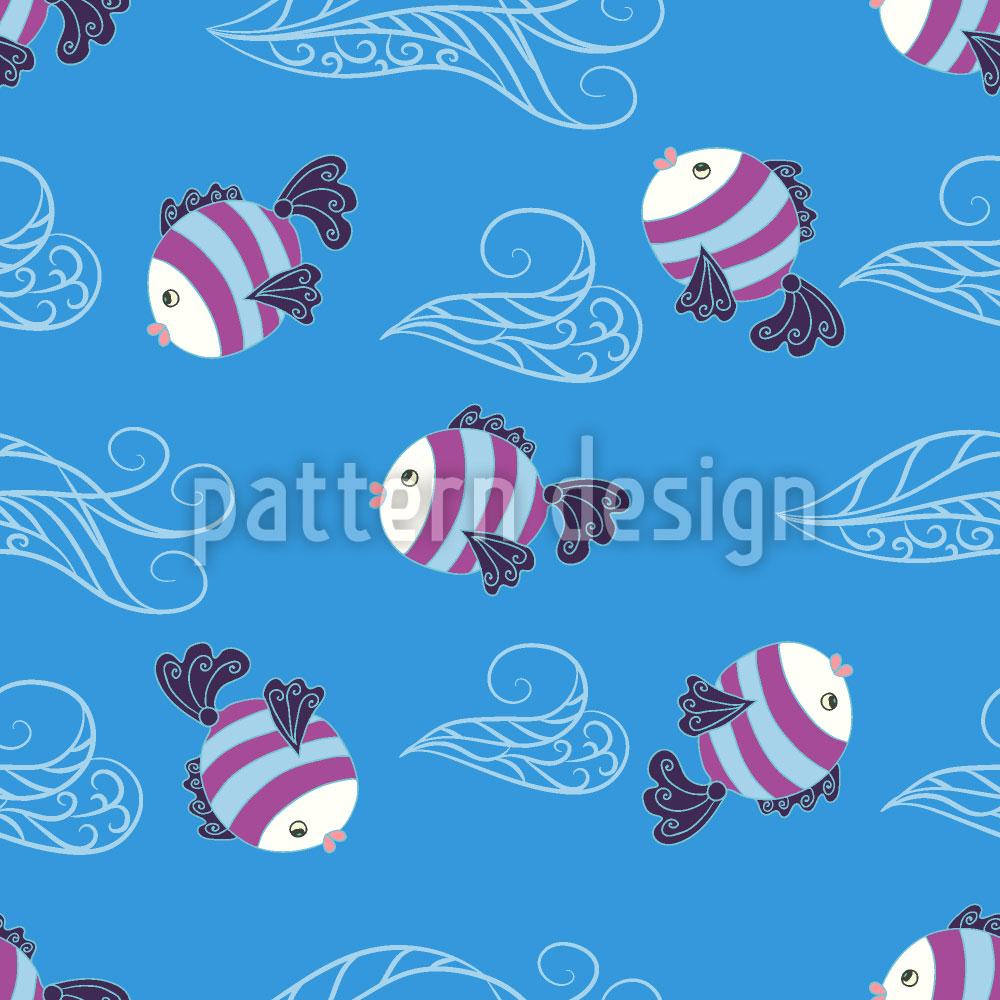 Designtapete Baby Fische