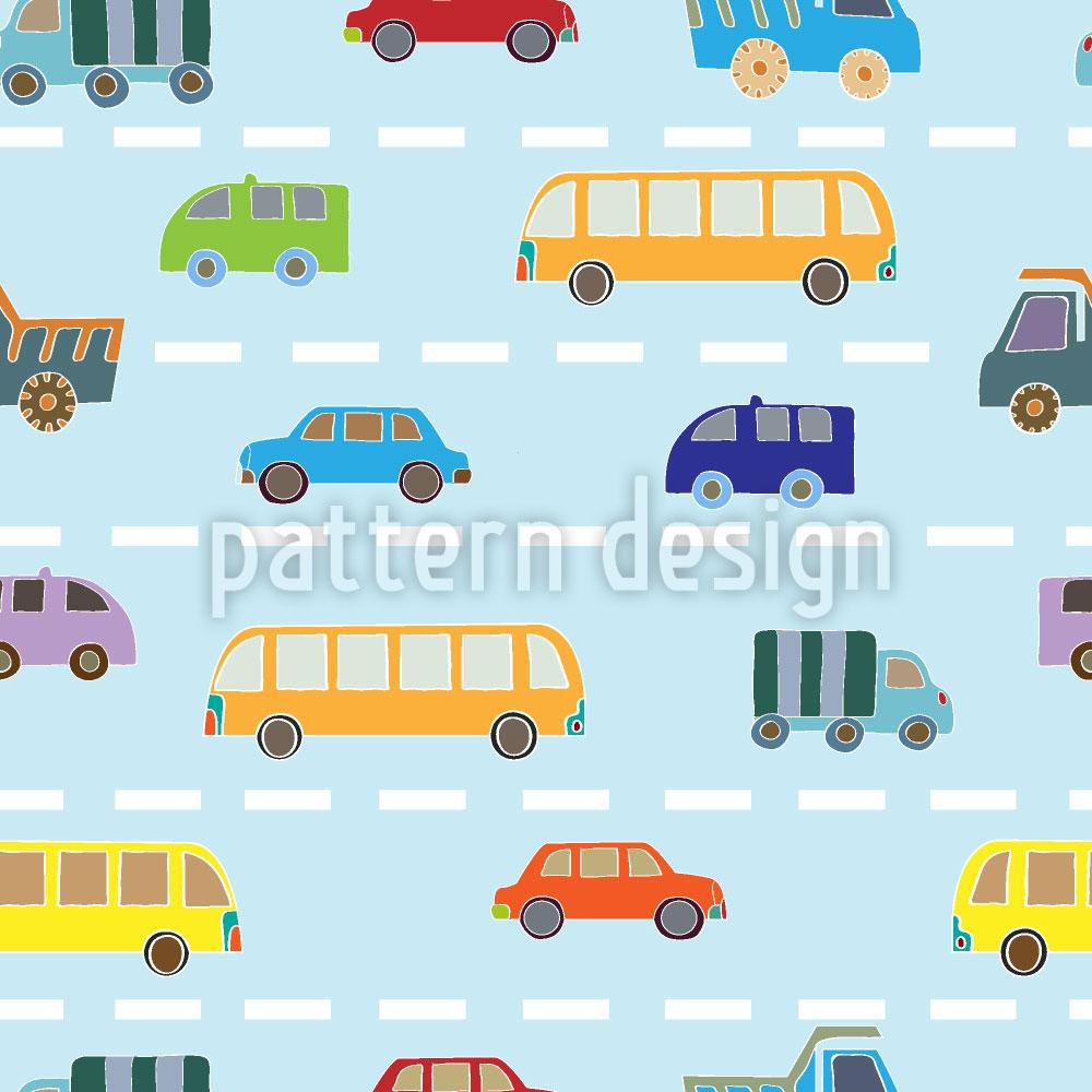 Designtapete Verkehr