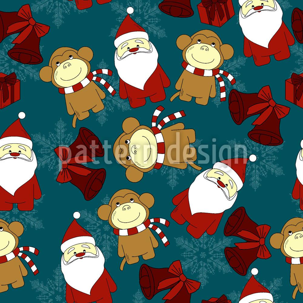 Designtapete Weihnachten Für Kinder