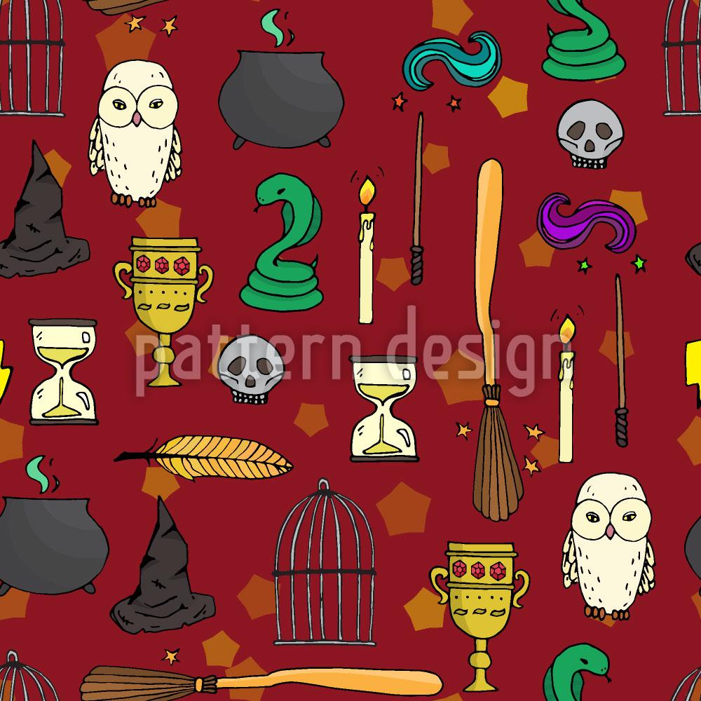 Designtapete Das Zauberer Kabinett