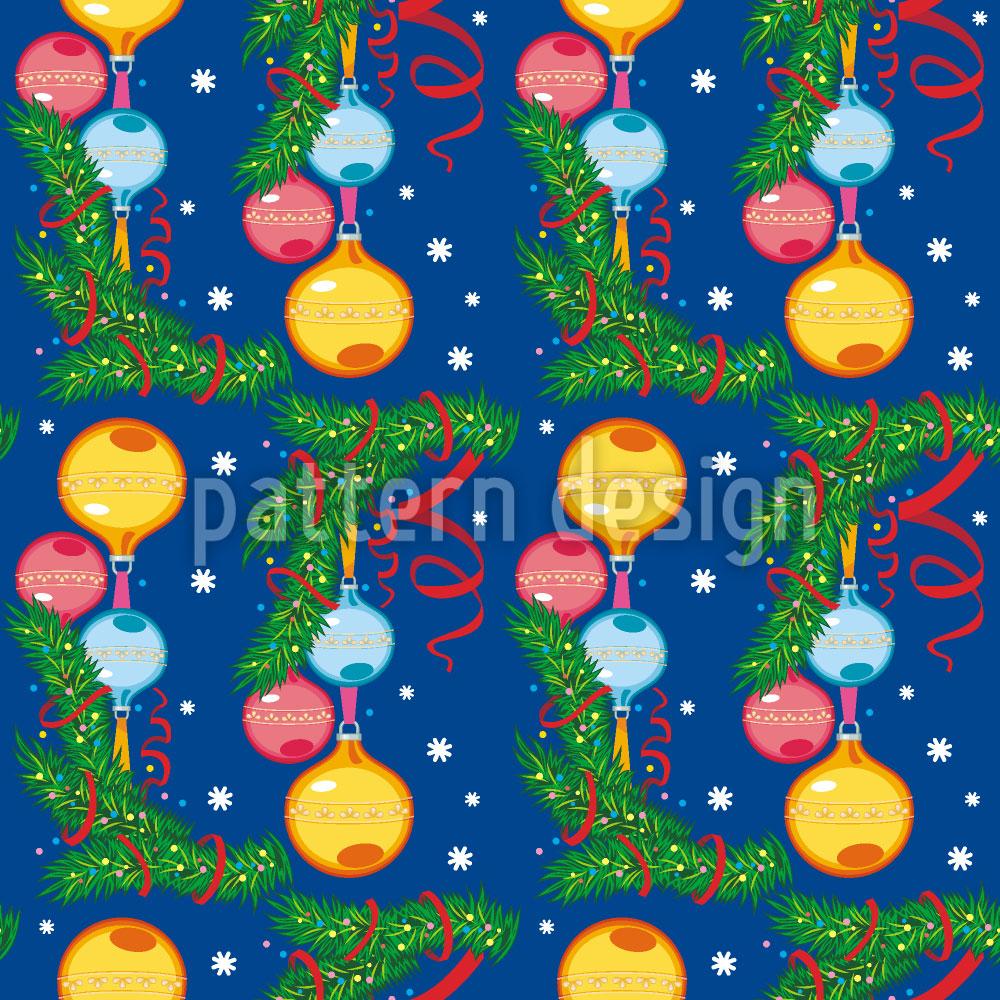Designtapete Weihnachts Stimmung
